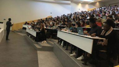Un individu a semé le trouble à l'Université Saint-Louis à Bruxelles