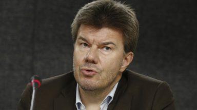 Le ministre flamand en charge de Bruxelles Sven Gatz (Open VLD) s'exprime sur sa dépression