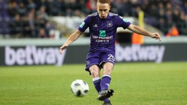 Anderlecht peut à nouveau compter sur Adrien Trebel