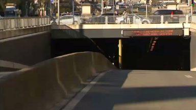 Le tunnel Cinquantenaire en direction du centre est rouvert