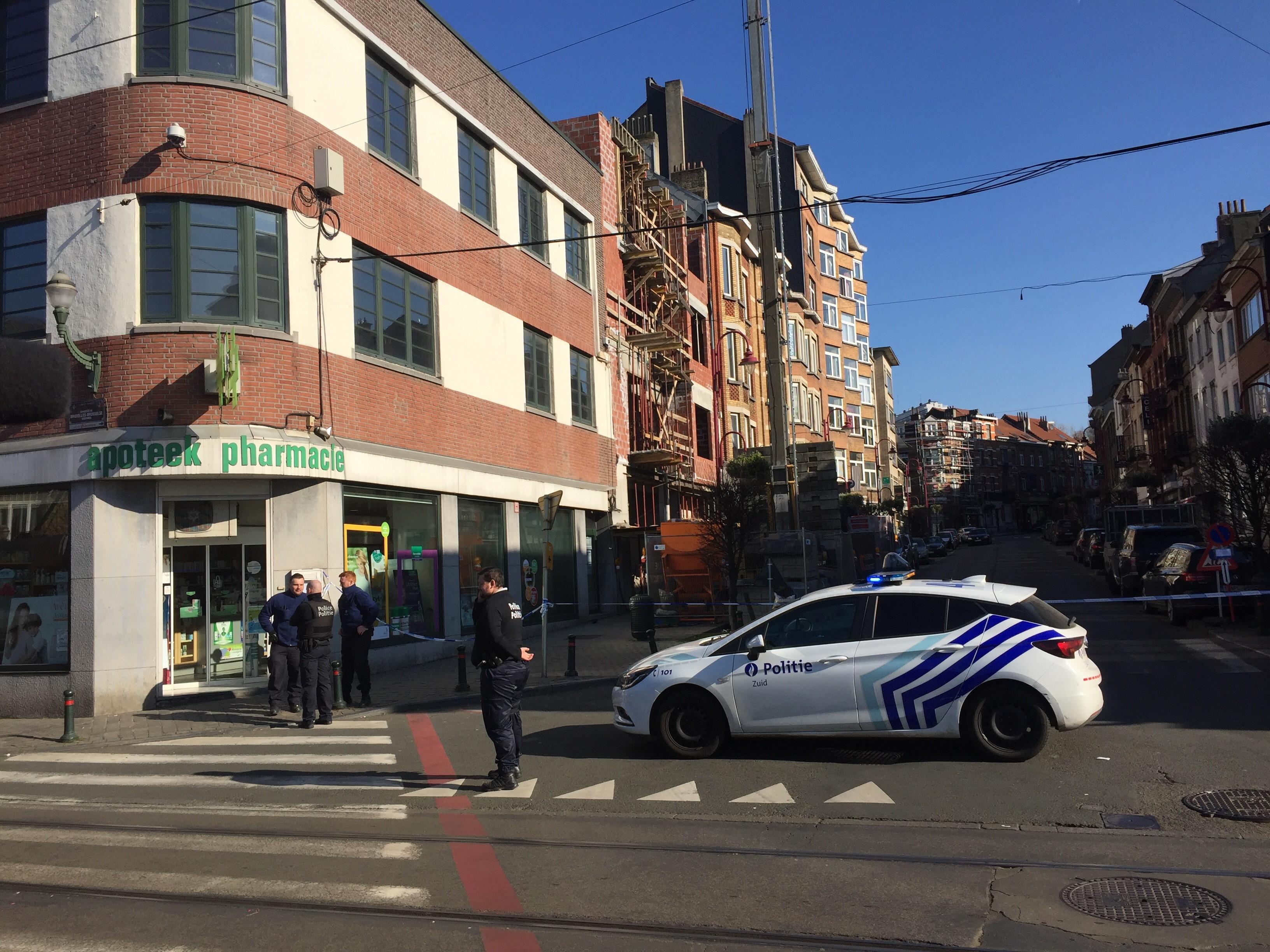 Déploiement de police à Forest: un quartier bouclé… pour une fausse alerte