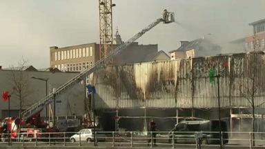 Incendie à Molenbeek : le parquet n'écarte pas d'emblée l'hypothèse d'une cause criminelle