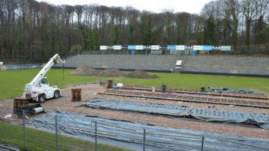 Union Saint-Gilloise : les travaux de rénovation du stade Marien avancent