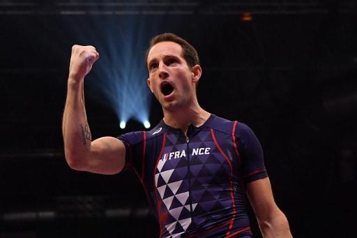Le perchiste encore champion du monde — Renaud Lavillenie