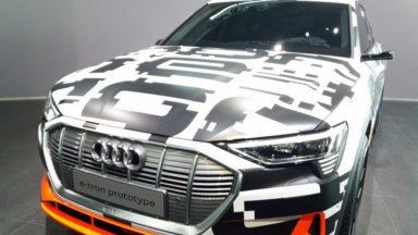 L'Audi e-tron produite à Forest coûtera 80.000 euros : près de 4.000 commandes déjà enregistrées