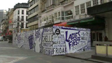 """Des """"sharing box"""" installées dans la Ville de Bruxelles pour la semaine des droits des femmes"""