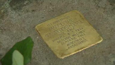 Hommage en l'honneur d'une ancienne enseignante du Lycée Emile Jacqmain, déportée à Auschwitz