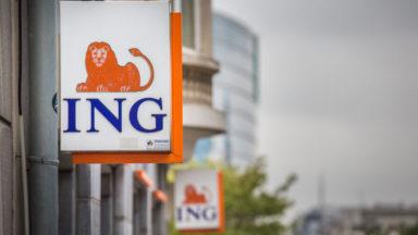 ING Belgique réduit ses équivalents temps plein qui passent de 1215 à 1000