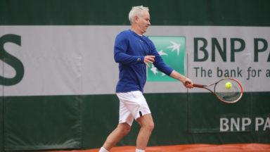 John McEnroe sera la tête d'affiche du BNP Paribas Fortis Champions disputé à Bruxelles