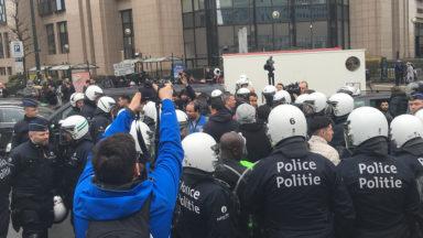 La police a dressé 19 PV pour des chauffeurs de taxis qui prolongeaient les blocages