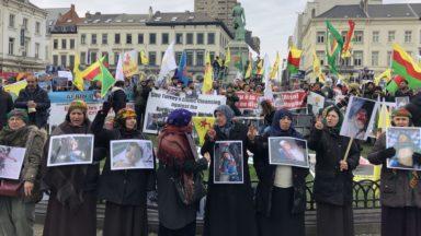 Bruxelles : une semaine de manifestations quotidiennes contre les violences à Afrin, en Syrie