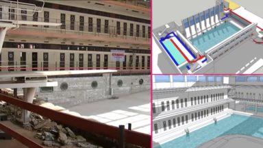 Schaerbeek : la rénovation de la piscine Neptunium va se poursuivre jusqu'en 2019