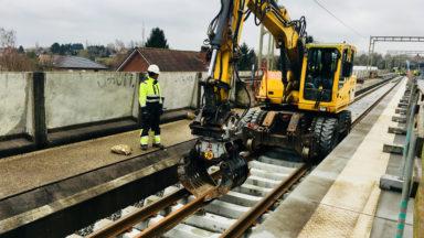 Watermael-Boitsfort : reprise d'un chantier du RER à l'arrêt depuis une semaine