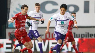 Pro League: Anderlecht bat Zulte-Waregem et monte à la 2ème place du classement