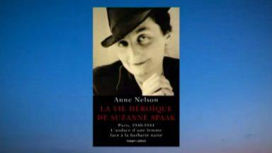 """L'Américaine Anne Nelson dessine """"la vie héroïque"""" de la résistante belge Suzanne Spaak"""