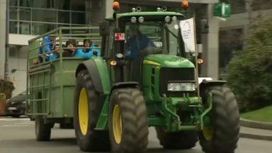 Veviba : les éleveurs et agriculteurs manifestent à Bruxelles et rencontrent Charles Michel