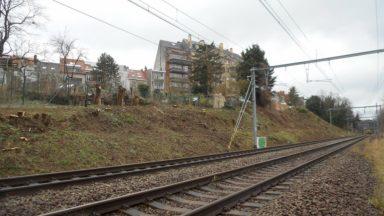 Uccle : un chantier d'Infrabel arrêté sur décision de la commune