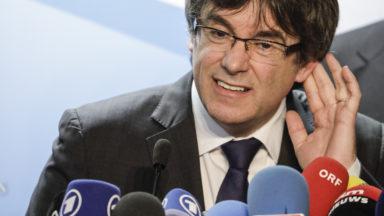Puigdemont de retour à Bruxelles pour internationaliser la crise catalane