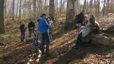 """Activité de sensibilisation à la nature dans le """"Bois des Naissances"""" à Uccle"""