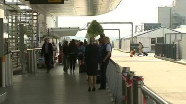 La zone où l'on peut déposer des passagers à Brussels Airport va être agrandie