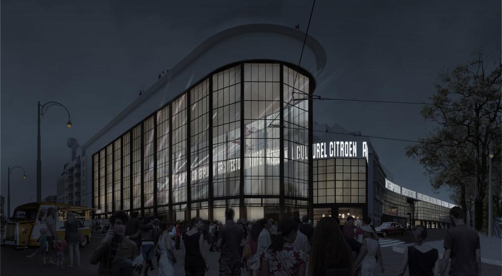 Mus e d 39 art contemporain les architectes de la fondation for Nom d architecte