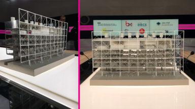 BX1 dévoile la maquette de son futur siège dans le Mediapark