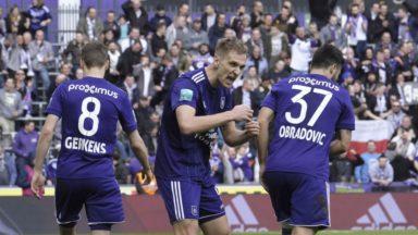 Pro League: Anderlecht affrontera La Gantoise pour ouvrir les playoffs 1