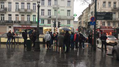 Manifestation à Bruxelles contre les violences policières