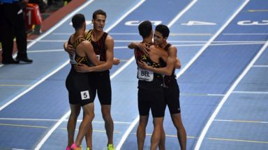 Mondiaux d'athlétisme en salle : médaille de bronze et record de Belgique pour les Tornados sur 4x400m