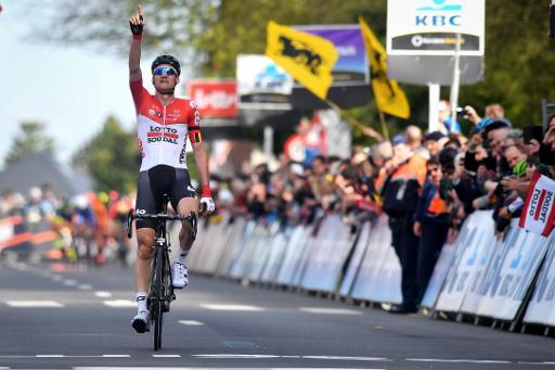 Victoire du Danois Michael Valgren — Amstel Gold Race