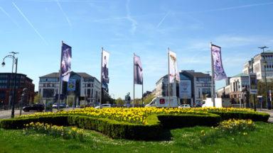 Des artistes bruxellois signent des installations place Sainctelette