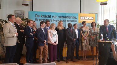 Communales 2018: la N-VA présente finalement 13 listes en Région bruxelloise