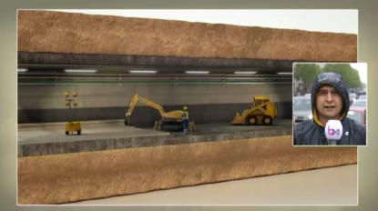 Début du chantier de rénovation du tunnel Léopold II - BX1