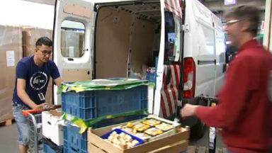 Schaerbeek : un fonctionnaire chargé de récolter les invendus alimentaires