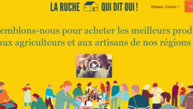 """""""La Ruche qui dit oui"""", les produits locaux et de saison, séduit de plus en plus : 15 Ruches à Bruxelles"""
