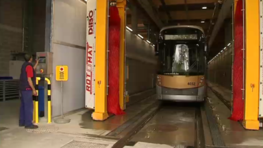 Inauguration du nouveau dépôt de trams Marconi à Uccle