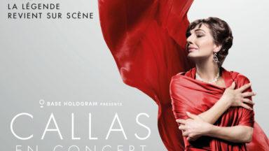Maria Callas en concert sous forme d'hologramme à Bruxelles