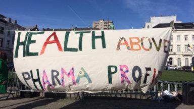 """Mobilisation contre la """"commercialisation de la santé"""" à Bruxelles"""