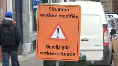 Bruxelles : les rues autour du Manneken Pis sont devenues piétonnes