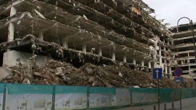 Les travaux de démolition du Parking 58 prennent un peu de retard