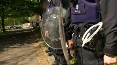 Peterbos : au moins trois arrestations suite à l'opération de police menée ce mercredi midi