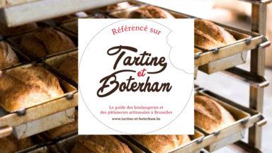 """Un autocollant """"Tartine et Boterham"""" pour repérer les boulangeries et pâtisseries artisanales"""