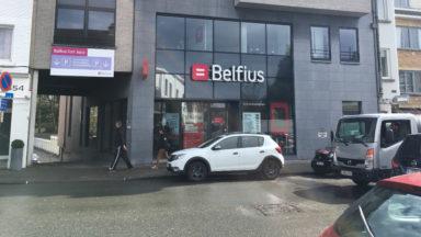 Tentative de braquage d'une banque à Uccle: les auteurs sont activement recherchés