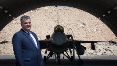 Remplacement des F-16: Steven Vandeput ne veut pas revenir sur les décisions prises