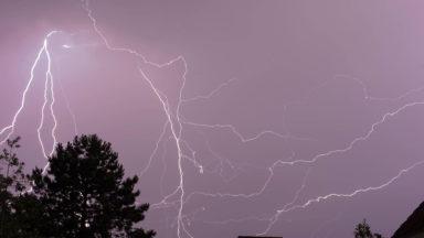 Météo : un nouvel avertissement aux orages intenses ce jeudi après-midi