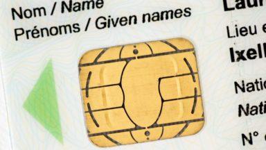 Les empreintes digitales sur la carte d'identité : pas avant 2020
