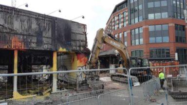 Incendie d'un dépôt à Molenbeek-Saint-Jean: il sera remplacé par des logements