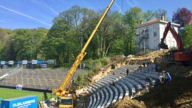 Union-Saint-Gilloise : le stade Marien sera-t-il prêt pour la saison prochaine? Visite des travaux en avant-première