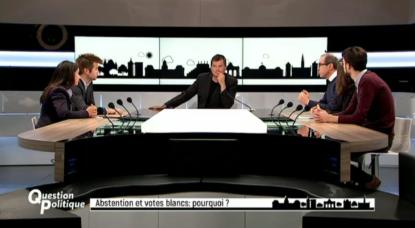 abstention et votes blancs : pourquoi ? sur BX1 dans l'émission Question Politique
