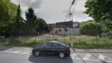 La police évacue un camp de Roms rue du Pavillon à Schaerbeek